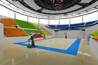 篮球场地优德88官方网站登录设计